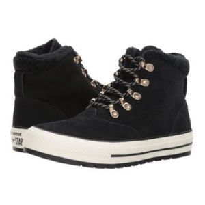 Converse Ctas Embers Boot Hi Suede Black W AUTHENT